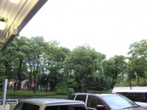 台風 雨 横浜 都筑 ワイパー 交換 見にくい 視界 運転