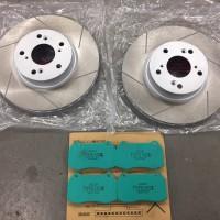 インテグラタイプR DC5 ブレーキローター、パッド交換