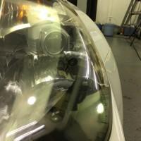 フェアレディZ Z33 ヘッドライトコーティング