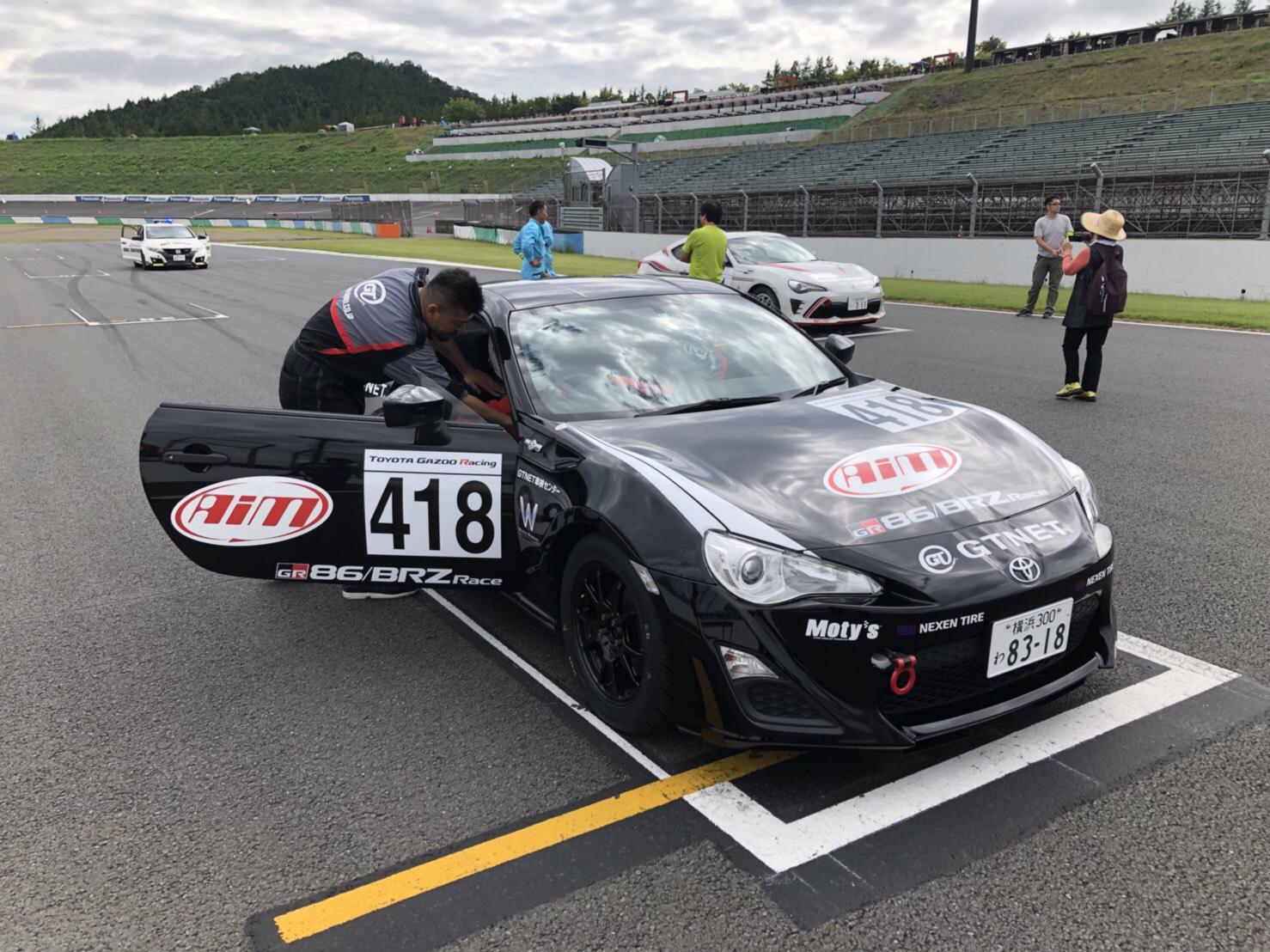 86/BRZ Race 2018 もてぎ ネクセン 418 GTNET